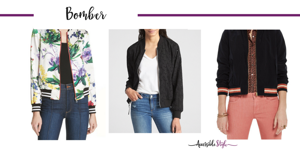 Summer Wardrobe Essentials - What to Keep and What to Add to your Wardrobe Bomber Jacket