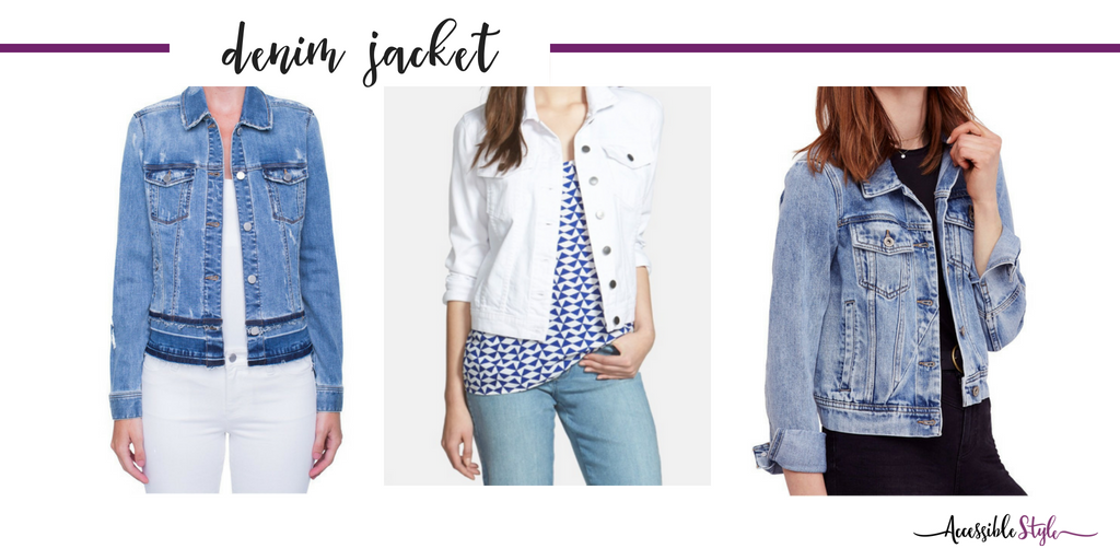 Summer Wardrobe Essentials - What to Keep and What to Add to your Wardrobe Denim Jacket