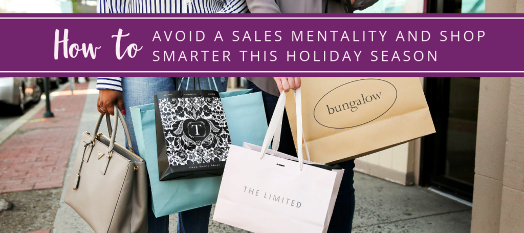 NJ personal stylist Neepa Sikdar How to Avoid a Sales Mentality and Shop Smarter this Holiday Season