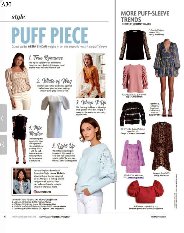 In the Press: 5 Season Must Have Puff Pieces in 201 Magazine