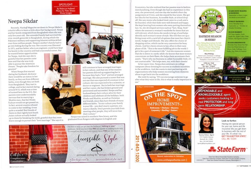 In the Press: Business Spotlight on Accessible Style in Wyckoff Living