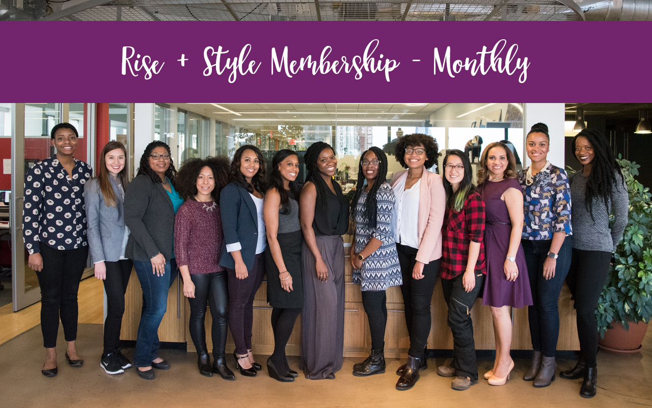 group of women styled - Rise + Style monthly membership